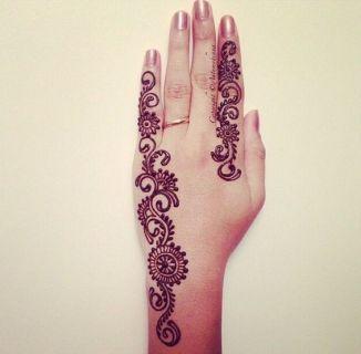 Eid Ul Azha Hand Mehndi Designs For Young Girsl 2015-16 4
