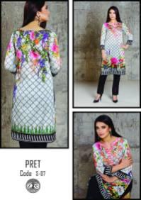 Eid Ul Azha Pret Silk Kurtis By Zoe 2015-16
