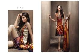 Eid Ul Azha Silk Dresses By Sana Safinaz 2015-16 3