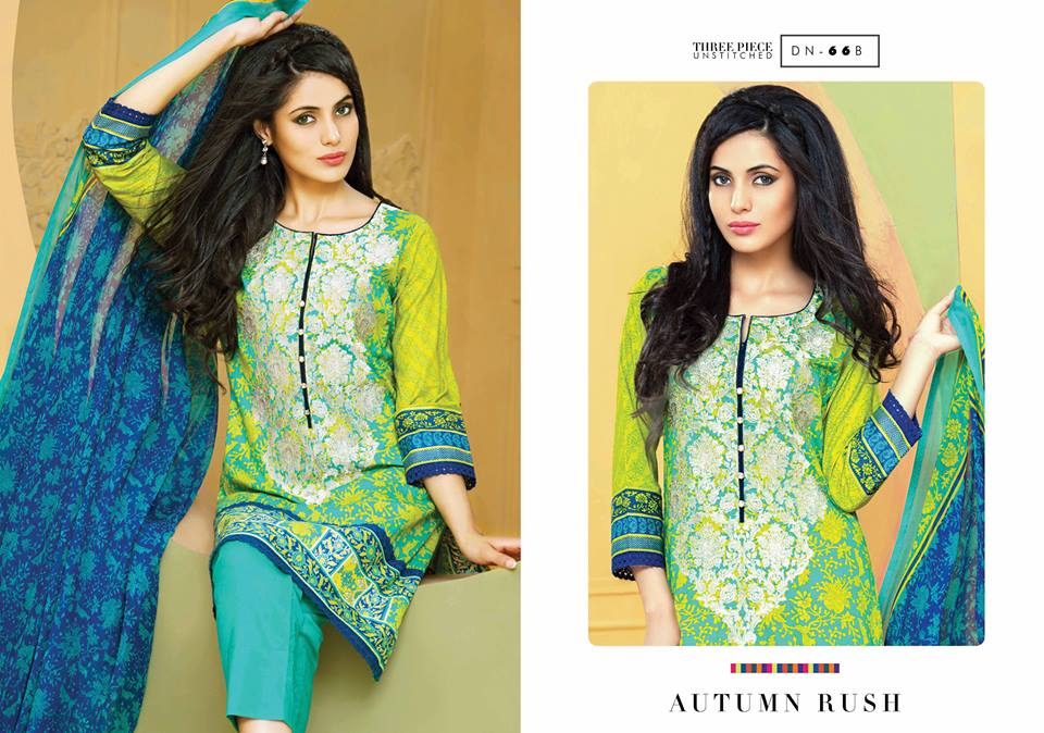 Embroidered Cambric Dresses On Eid By Bonanza 2015-16