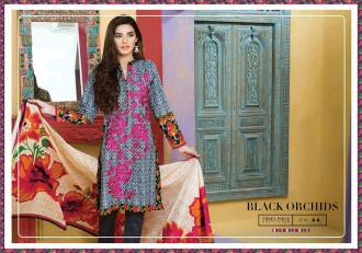 Embroidered Cambric Dresses On Eid By Bonanza 2015-16 2