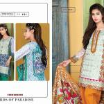 Embroidered Cambric Dresses On Eid By Bonanza 2015-16 4