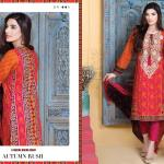 Embroidered Cambric Dresses On Eid By Bonanza 2015-16 9