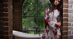 Embroidered Chiffon Eid Wear By Zunuj 2015-16