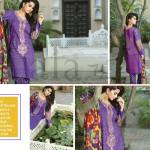 Embroidered Kameez Eid Wear By Lala 2015-16 16