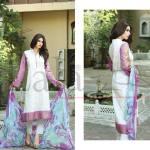 Embroidered Kameez Eid Wear By Lala 2015-16 4