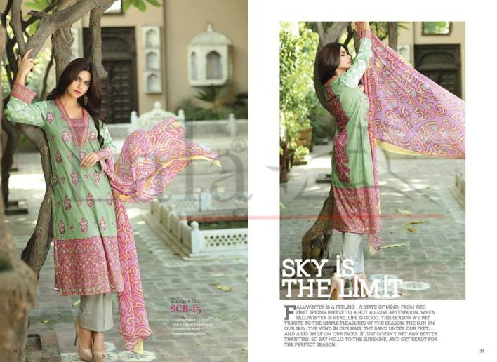dyed trouser with kameez