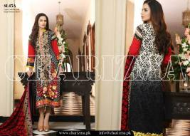 Embroidered Linen Eid Wear Dresses By Charizma 2015-16 16