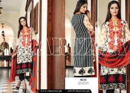 Embroidered Linen Eid Wear Dresses By Charizma 2015-16 19