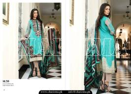 Embroidered Linen Eid Wear Dresses By Charizma 2015-16 26