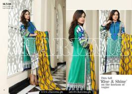 Embroidered Linen Eid Wear Dresses By Charizma 2015-16 8