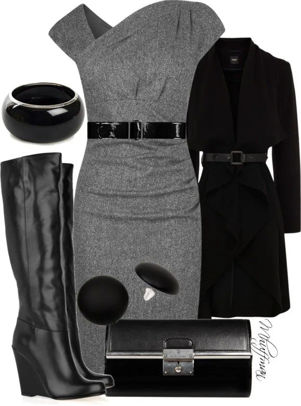 winter business dresses