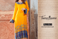 Fall Shalwar Kameez Designs For Women By Taana Baana 2015-16