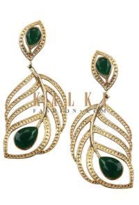 Indian Earrings Jewelry By Kalki Fashion 2015-16 5
