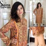 Luxury Pret Collection Party Wear Dresses By Saira Rizwan 2015-16
