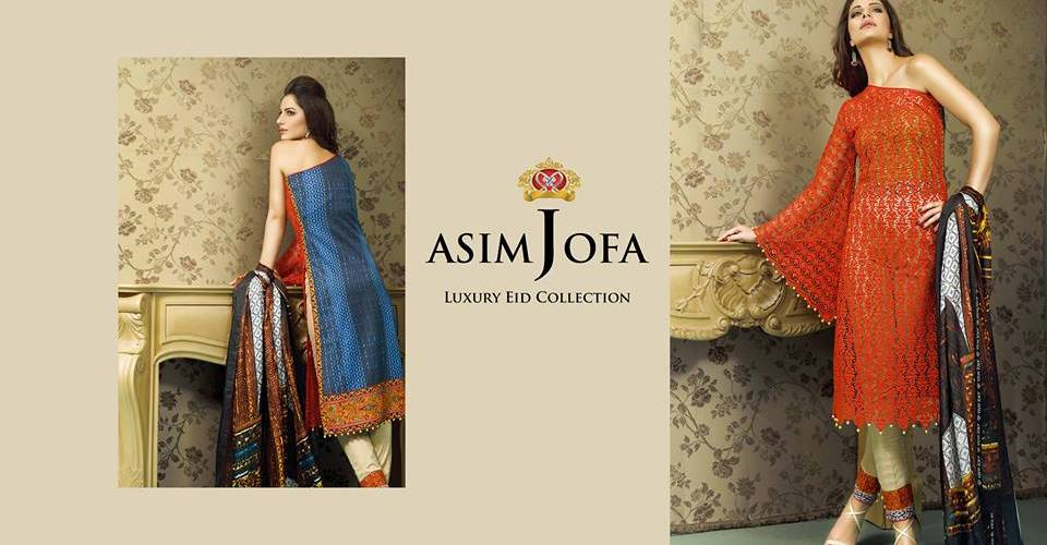 c149344c3e Luxury Pret Eid Dresses By Asim Jofa 2015-16