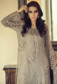 Mbroidered Eid Wear Bridal Dresses By Maria B 2015-16 9