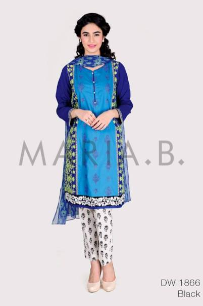 Pret Eid Ul Azha Dresses By Maria B 2015-16 6