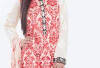 Swiss Embroidered Eid Wear By Cross Stitch 2015-16