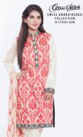 Swiss Embroidered Eid Wear By Cross Stitch 2015-16