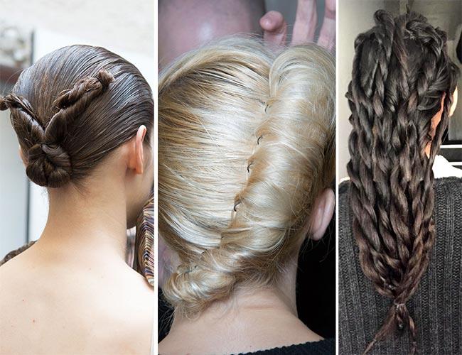 twisted hairdos