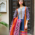 3 Piece Embroidered Printed Collection By Khaadi 2015 4