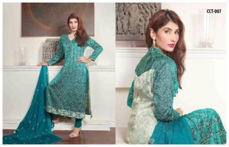 Banarasi Shalwar Kameez Collection By Tawakal Fabrics 2015-16 12