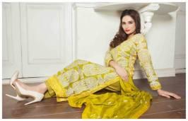 Banarasi Shalwar Kameez Collection By Tawakal Fabrics 2015-16 2