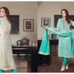Banarasi Shalwar Kameez Collection By Tawakal Fabrics 2015-16 4