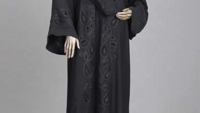 Black Abaya Collection By J. Junaid Jamshed 2015-16