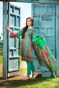 Embroidered Cotton Polyester Shalwar Kameez By Khaadi 2015 9