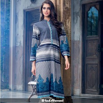 52d2923894 Gul Ahmed Cambric Shirts Tights Collection 2015-16
