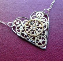 Heart Necklace Pendant Designs For Gifting Some One 3
