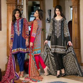 Linen Embroidered Winter Collection By Ittehad 2015-16 6