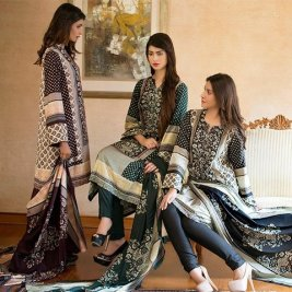 Linen Embroidered Winter Collection By Ittehad 2015-16 9