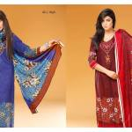 Linen Winter Embroidered Shalwar Kameez By Sitara Textiles 2015-16 4