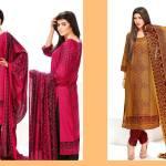 Linen Winter Embroidered Shalwar Kameez By Sitara Textiles 2015-16 9