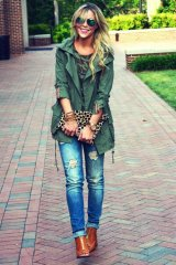 Military Clothing Trend In Winter Outfits 5