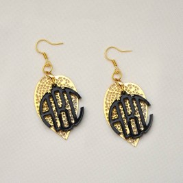 Monogram Earring Jewellery Ideas For Women 3