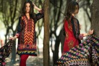 Printed Cambric Shirts By Al Zohaib Textiles 2015-16