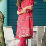Printed Khaddar Shalwar Kameez By Orient 2016 5