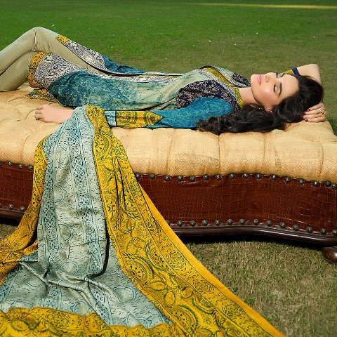 Royal Embroidered Dresses By House Of Ittehad 2015-16 2