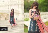Silk Chiffon Embroidered Dresses By So Kamal 2016 6