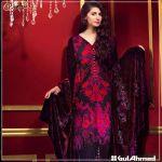 Velvet Shalwar Kameez Collection By Gul Ahmed 2016 6