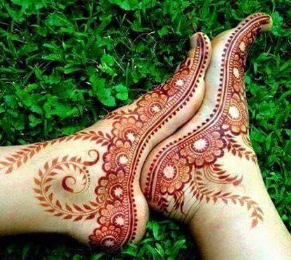 Winter Bridal Mehndi Ideas Fashion 2015-16 5