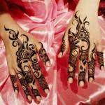 Winter Bridal Mehndi Ideas Fashion 2015-16 7