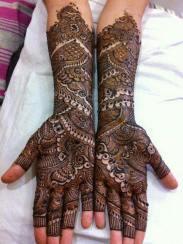 Winter Bridal Mehndi Ideas Fashion 2015-16 9
