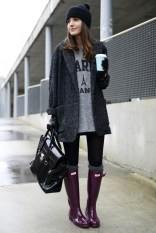 Winter Long Hunter Boots Designs For The Cold Season