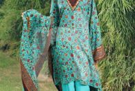 Winter Printed Kameez Designs By Nishat Linen 2015-16