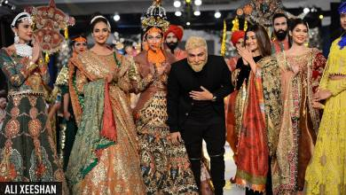 Winter Wedding Dresses By Ali Xeeshan At PLBW 2016